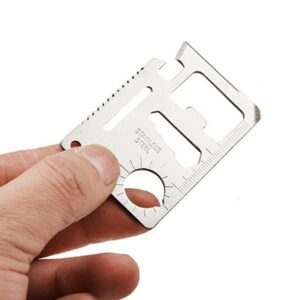 11-in-1 Multi-function Outdoor Camping Hunting wallet card tool